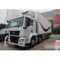 China 8×4 35 Drive Type Tons Refrigerated Delivery Truck For Keeping Fresh Goods on sale