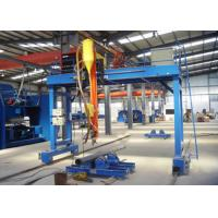 Gantry Type Automatic Welding Machine Light Pole For High Mast Main Motor Power 10KW