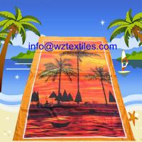 Wholesale Full Printed Microfiber Beach Towels from china suppliers