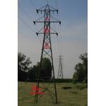 China 66kV double circuit line tower,PYLON STEEL 66KV LINE TOWERS for sale
