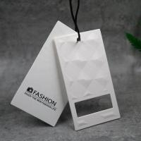 China Custom Garment Clothing Hang Tag Paper Card Printing Recycled Materials for sale