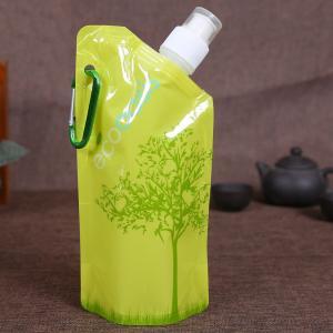 China Aluminum Foil Plastic Beverage Bags , Disposable Spout Pouch Packaging on sale