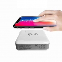 China 5W Qi Wall Charger Power Bank With LED indicator light on sale
