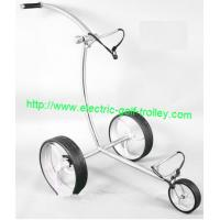Wholesale Stainless steel push golf trolley manual stainless steel golf cart from china suppliers