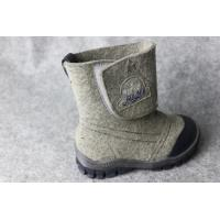 Wholesale Customized Mens WintervWarm Felted Wool Boots, Boys Snow Wool Felt Boots from china suppliers