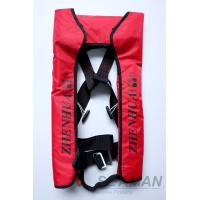 Wholesale CCS Adult Automatic Inflatable Life Jackets Vests 210D Nylon TPU Coating 150N Lifejacket from china suppliers