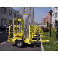 Wholesale 10m Platform Height Aluminium Alloy Trailer Mounted Aerial Work Platform Lift from china suppliers