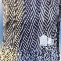 Wholesale 100% Acrylic Woven Scarf Measuring 180 x 54cm with 10cm Fringe from china suppliers