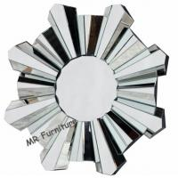 Romantic Wall Mirrors For Bedroom, 80cm Diameter Decorative Wall Mirrors for sale