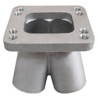 China 304 Stainless Steel Casting Spike Turbo Header Manifold Merge Collector T3 T4 for sale