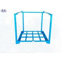 Wholesale Selective Steel Stacking Pallets 1350x1200x1500mm Accessible 4 / 2 Way Entry from china suppliers