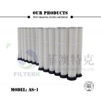 Wholesale PTFE PU Molded Pleated Filter Bags , 153 * 2000mm Dust Extractor Filter Bags from china suppliers