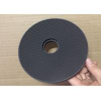 Catalytic Gas Infrared Honeycomb Ceramic Plate , Flameless Infrared Plate With Internal Hole