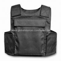 China Bullet proof and Stable-proof Vest with 1000D Nylon, Meets USA Standards on sale