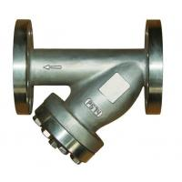 Wholesale Water Meter Steam Strainer With Plug and Drain Valve PN16 / Y Type Filter from china suppliers