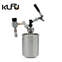 Wholesale 2L / 3.6L / 4L Cartridge Size 6g Draft Beer Nitro Cold Brew Keg from china suppliers