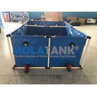 2000L flexible square   5000lFish farming tank in door and out door using water storage tank for sale