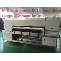 Buy cheap Disperse / Pigment Inkjet Printers 1.8m Digital Printing Machine For Textile from wholesalers