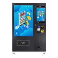China 22 Inch Touch Screen Snack Food Vending Machines for sale CE Certificated on sale
