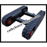 Wholesale 2.5 ton rubber track undercarriage rubber crawler undercarriage from china suppliers