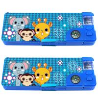 Wholesale Cute Animal Cool Pencil Cases PVC For School from china suppliers