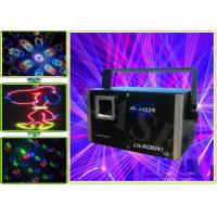 China DMX Multi Colored Laser Lights , RGB Laser Light With Animation Fireworks and Beam on sale