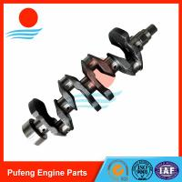 Wholesale auto crankshaft supplier, casting steel crankshaft 4G13 4G14 for Mitsubishi MD138992 MD327703 from china suppliers