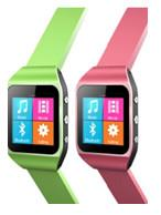 MP4 Watch with FM reciever, Bluetooth and Pedometer