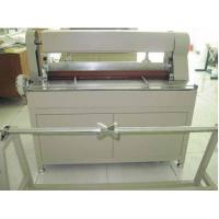 Buy cheap Customized Three Layers Knife Filter Paper Pleating Machine , 1050mm Width from wholesalers