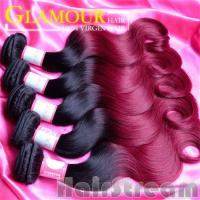 Buy cheap Beauty Hair Peruvian body Wave Hair Wholesale Unprocessed Human Ombre Hair from wholesalers