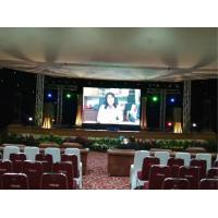 Wholesale 250*250mm Panel LED Stage Screen Rental For Conference / Light Weight Thin Body from china suppliers