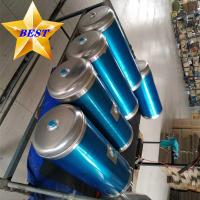 China Customized aluminum truck air tank / bus air reservoir tank for sale for sale