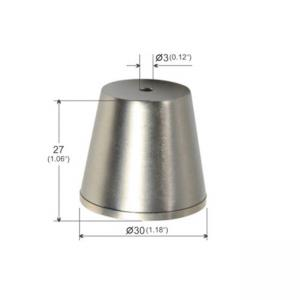 Wholesale Ceiling Attachment Cylindrical Trapezoidal Brass Plated Nickel YW86278 from china suppliers
