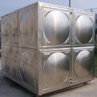 China Hot Pressed Panel Drinking Water Storage Stainless Steel Water Tank for sale