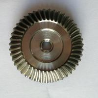 Quality Durable Differential Steel Straight Bevel Gear Electric Plating Surface for sale