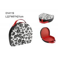 Best Portable Packing Mini Round Travel Jewelry Case , Jewelry Travel Cases Storage Box wholesale