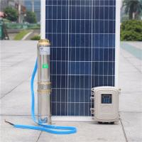 Wholesale Solar booster pump systems solar pond pump helical screw pump Submersible Solar deep well water pump for bore well from china suppliers