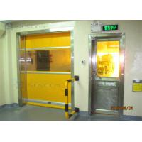 Wholesale Industrial 304 Stainless Steel High Speed PVC Rolling Door Internal / External Area from china suppliers