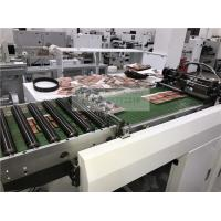 Flat Bed Label Die Cutting Machine & Hot Foil Stamping Machine Long Service Life for sale