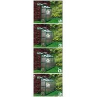 G-MORE Wholesales Wall Lean-To Series Aluminum Polycarbonate Hobby Greenhouse Aplication1 (2).jpg