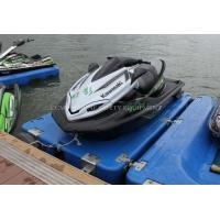 Wholesale Folating pontoon floating platform for jet ski water speed boat from china suppliers