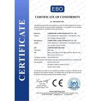Chengdu MRJ-Laser Technology Co., Ltd. Certifications