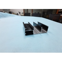 Wholesale Black Powder Coating 6.5 Meters Patio Door Profiles from china suppliers