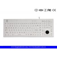 Buy cheap Norway Layout Silicone Waterproof Keyboard with Trackball and Customizable Layout from wholesalers