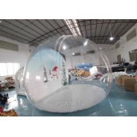 Wholesale 4m Inflatable Snow Globe Bubble Tent With Passage Way Background from china suppliers