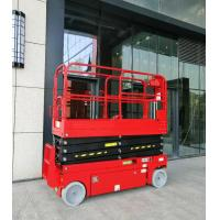 Wholesale 16m working height access platform plataforma elevadora self-propelled electric hydraulic scissor lift with CE from china suppliers
