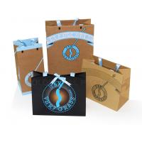 custom brown craft paper gift bags packaging making manufacturer for sale