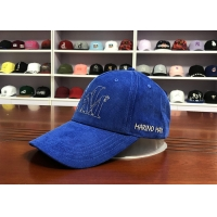Wholesale Hot Sales ACE Unisex 5 panels Blue Silk Print Logo With Flat Embroidery Logo on Left Panels Baseball Cap from china suppliers