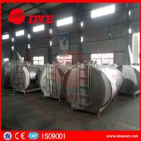 Wholesale DYE Stainless Steel Milk Transportation Tank Direct Expansion Refrigeration from china suppliers