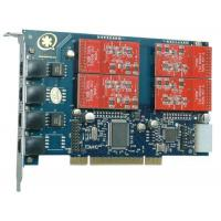 Wholesale TDM410P 4 Port with 4 FXO Modules Asterisk Card for Voip from china suppliers